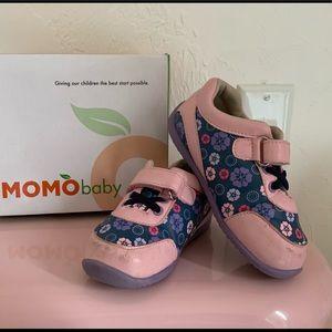 Momo Girls First Walker Leah Sneaker Shoes, sz 8